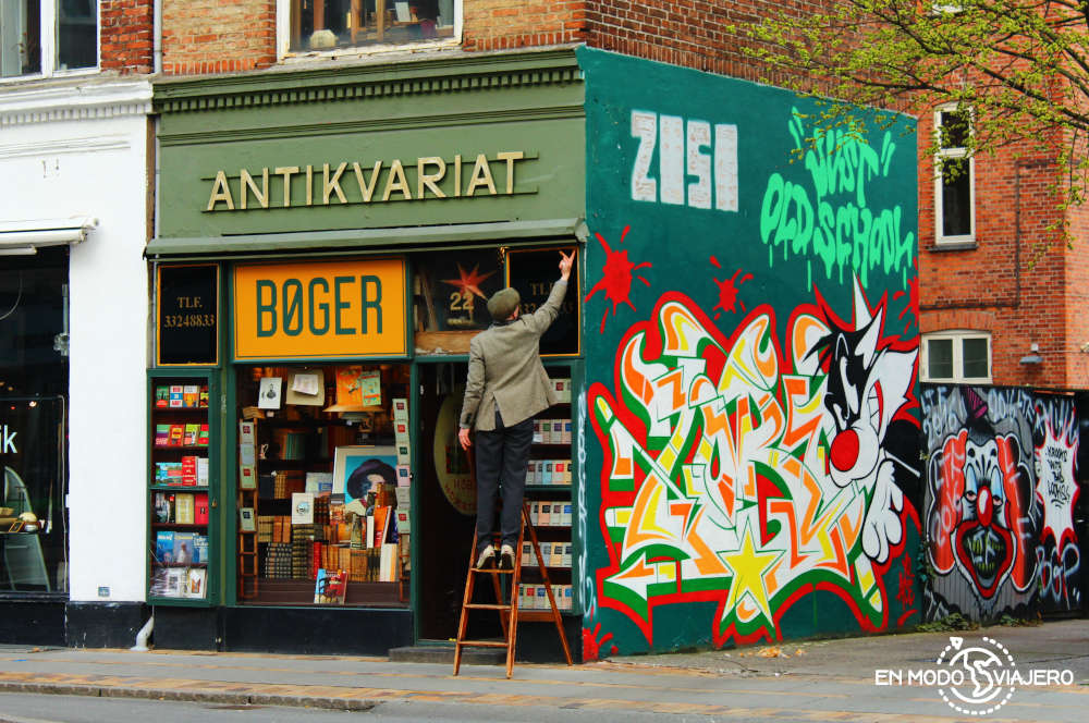 Grafitis de Copenhague