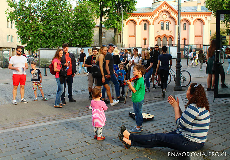 street music day vilna